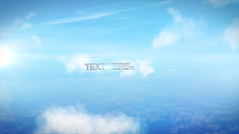 Simple Sky Flythrough After Effects Template