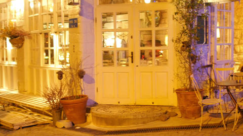 ALACATI, CESME, TURKEY - MAY 2015: traditional houses, travel destination Live Action