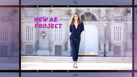 Fashion Promo After Effects Template