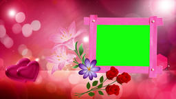 Green Screen background Animated video HD Free Wedding Frame Green Screen Footage