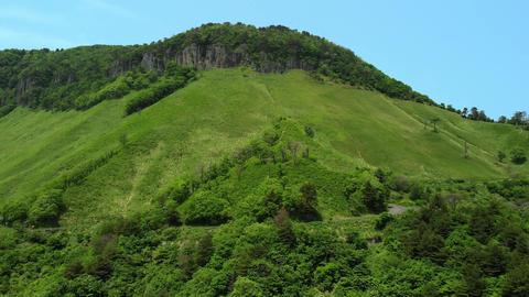 新緑の山を飛ぶ ビデオ