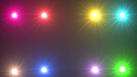 Flare colorful light flash GIF