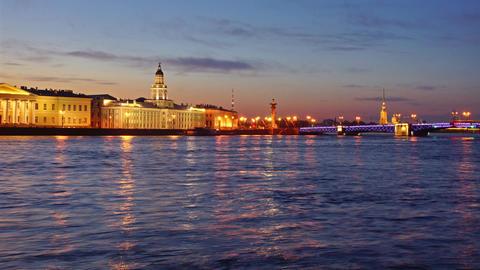 Night Saint Petersburg #1 영상물