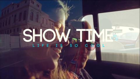 Summer Slide Show Folder After Effects Template