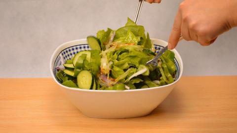 Healthy Green Salad Mix GIF