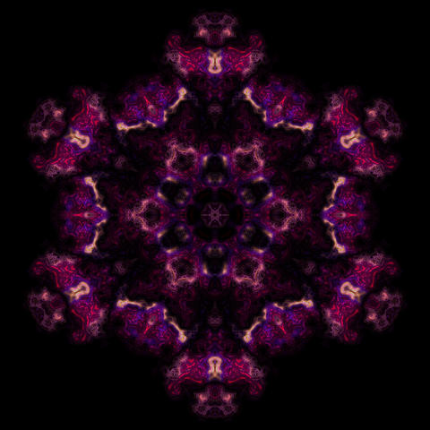 Kaleidoscopic ornamental pattern Fotografía