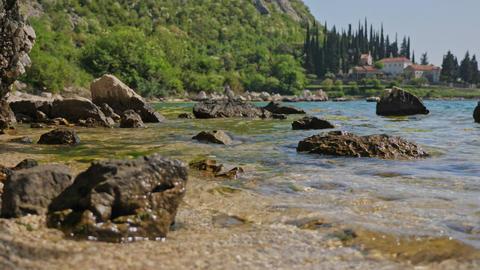 Large stones on the beach 영상물