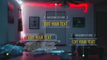 Call-Out Titles モーショングラフィックステンプレート
