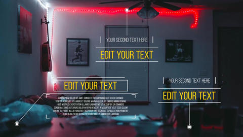 Call-Out Titles Motion Graphics Template