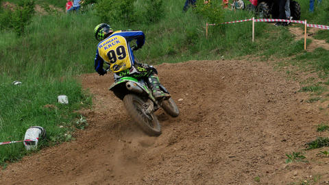 Motocross racers championship 4K Footage