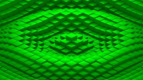 Rhombuses Formed A Wave 애니메이션