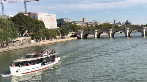 Paris seine Footage