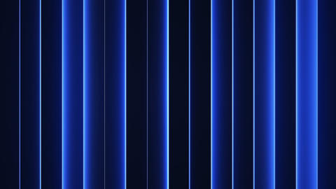 Glowing blue vertical lines seamless loop abstract 3D animation Animation