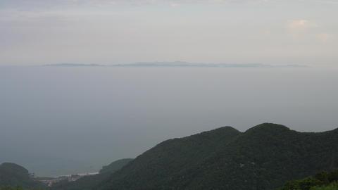 佐渡島と鶯の泣き声 ビデオ