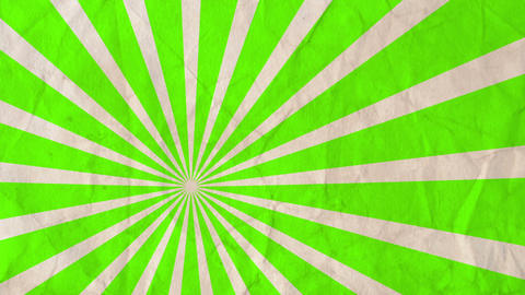 Motion Graphics Background Rotating Rays Lime Green Color ライブ動画