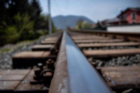 Train rail Fotografía