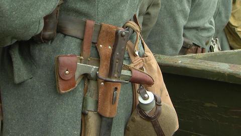Ammunition German soldier Footage