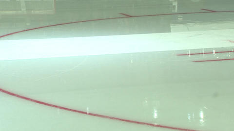Hockey court, ice arena Live Action