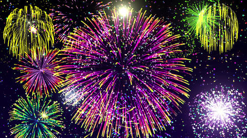 Fireworks_2 Animación