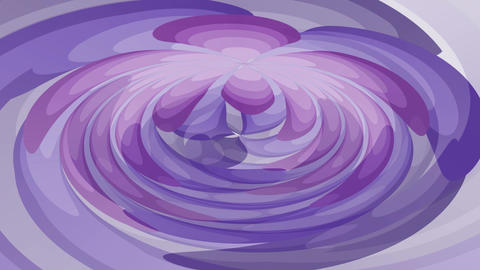 Purple abstract fantasy, video animation with moving dark and light purple Animation
