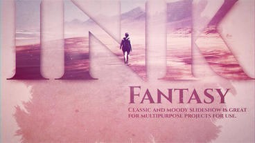 Ink Fantasy After Effects Template