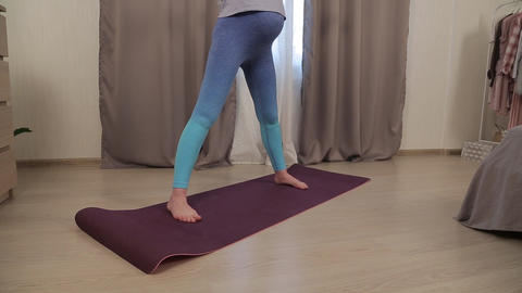 Yoga for pregnant women 05 Footage