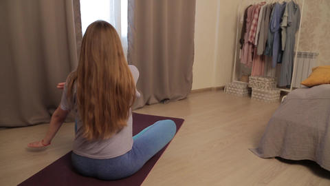 Yoga for pregnant women 14 Footage