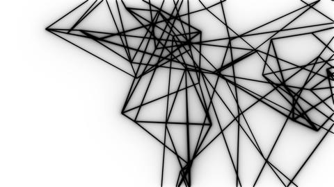 Wireframe beat_Black and white 1 Animation