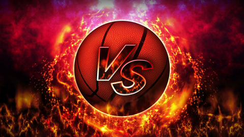 Sports Fight Backgrounds, Basketball, Loop Animation Animation