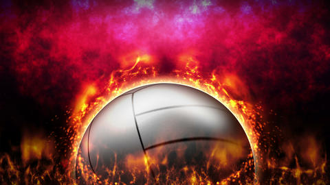 Sports Fight Backgrounds, Volleyball, Loop Animation Animation
