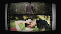 Filmstrip Slides Premiere Pro Template