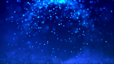 Abstract background with moving and flicker particles GIF