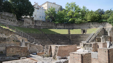 Roman Theater of Trieste Live Action