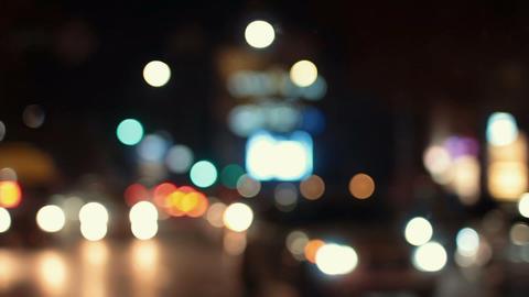 Traffic Bokeh Light Live Action