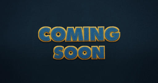 "Coming Soon. Intro. The animation shows how the words ""coming soon"" slip in in Animation"