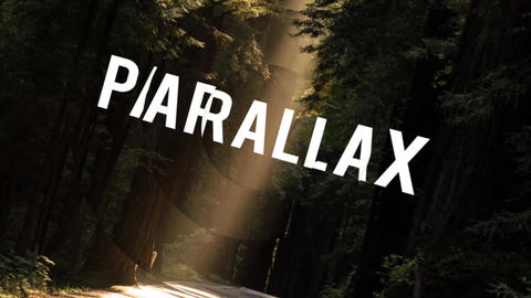 Elegant Parallax Logo After Effects Template