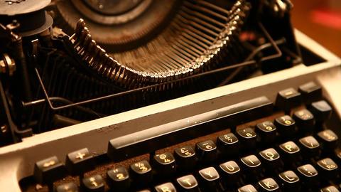 Typewriter Footage