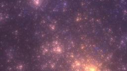 Rotating galactic stars background Animation