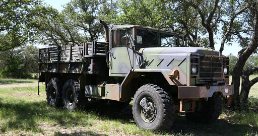 M939 Military Truck Live Action