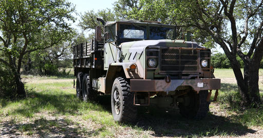 M939 Military Truck GIF