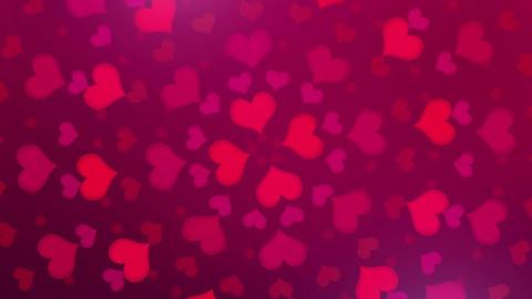 Heart ( ハート 赤 回転B ) CG動画
