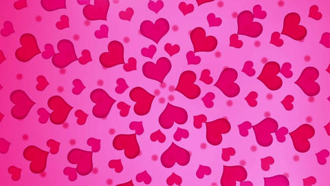 Heart Pink Rotation B Animation