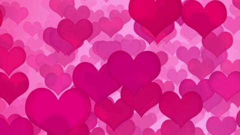 Heart ( ハート ピンク ランダムA ) CG動画