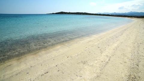 Clear water in Lu Impostu beach Live Action