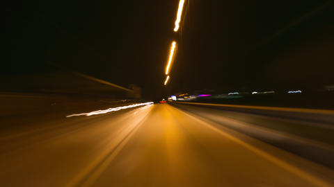 Night Speed Drive GIF
