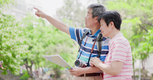 old couple go travel Live影片