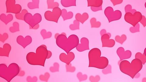 Heart Pink Wave B 애니메이션