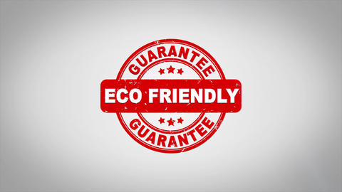 Eco Friendly Signed Stamping Text Wooden Stamp Animation Animation