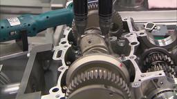 Automobile Factory Car Production HD Footage