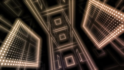 LED Room 0 B CaTA 4K CG動画